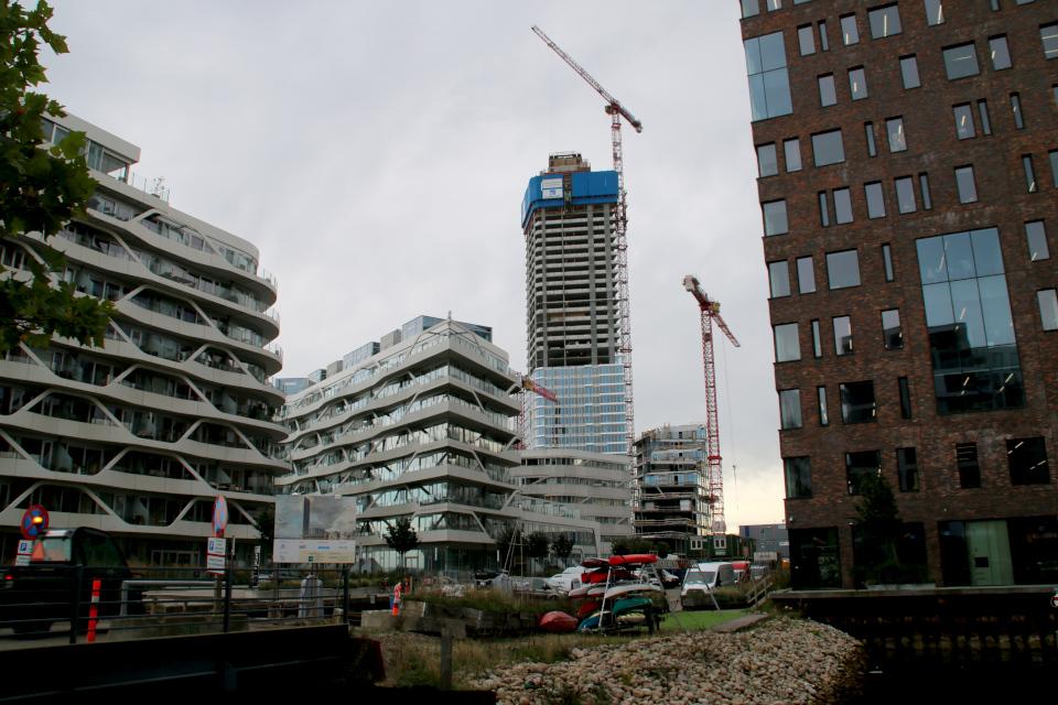 Light house. Орхус Доклендс 29 сентября 2021 (Aarhus Ø), Дания