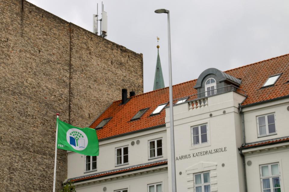 Соборная школа (Aarhus katedralskole). Орхус Доклендс (Aarhus Ø), Дания 29 сентября 2021