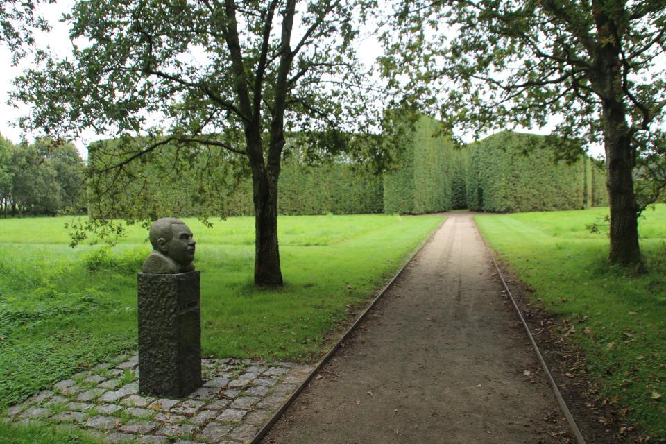 Sørensen. Геометрическе сады в Хернинг (De Geometriske Haver Herning), Дания. Фото 14 сент. 2021