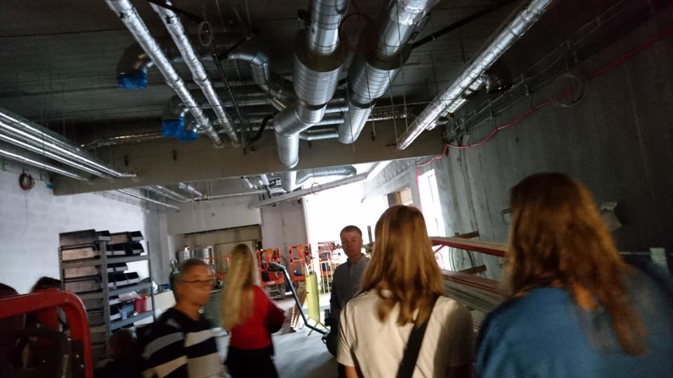 Виварий (dyrestald). Форум - день открытых дверей (Forum - Åbent Hospital), Университетская больница Орхус, Дания. Фото 5 сент. 2021