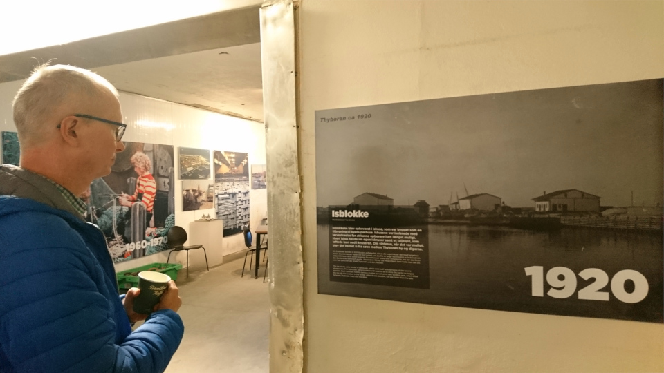 Isblokke. Музей ледяного искусства Тюборён (Iskunsten Thyborøn), Дания. Фото 25 сент. 2021