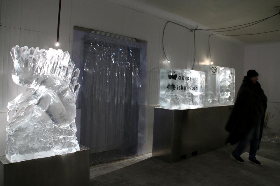 Музей ледяного искусства Тюборён (Iskunsten Thyborøn), Дания. Фото 25 сент. 2021