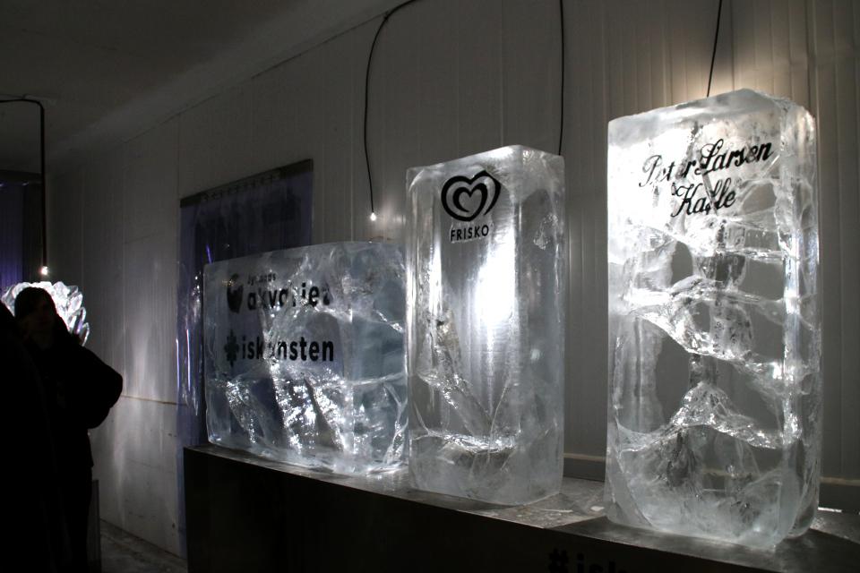 Peter Larsen Kaffe. Музей ледяного искусства Тюборён (Iskunsten Thyborøn), Дания. Фото 25 сент. 2021