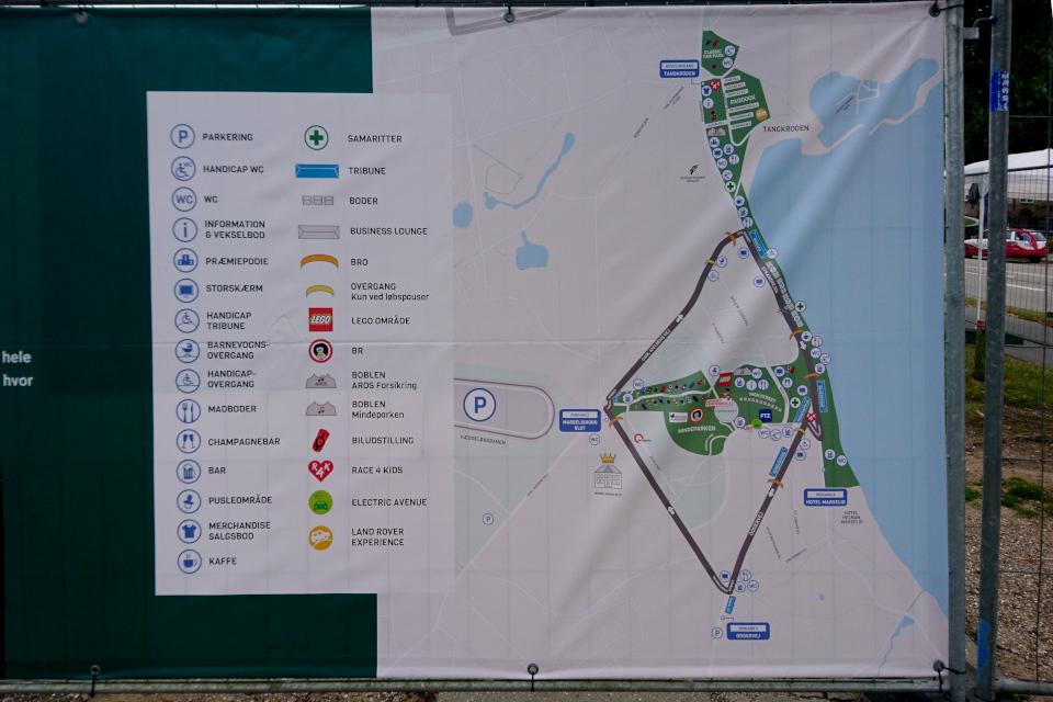 Aarhus classic car race.Тангкроэн / Tangkrogen, г. Орхус, Дания. Фото 16 сент. 2021