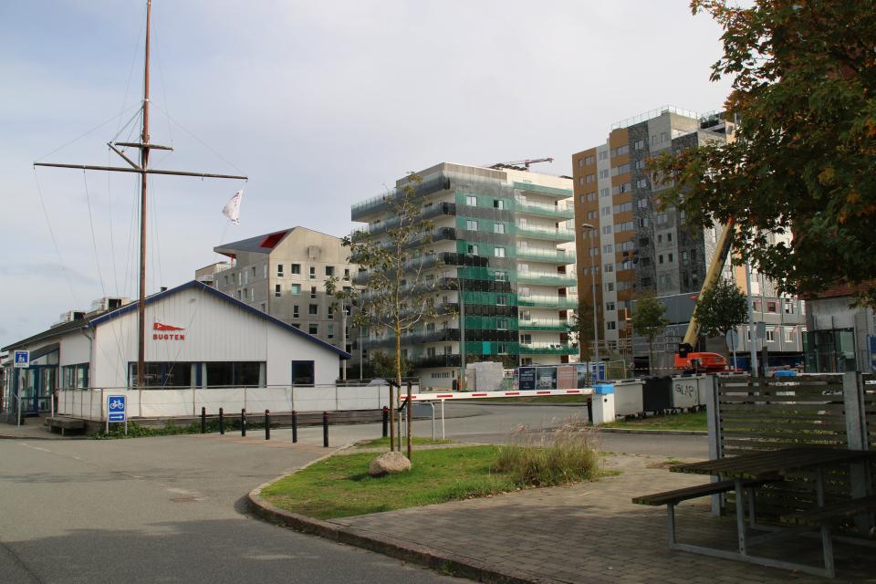 Парусный клуб. Орхус Доклендс 29 сентября 2021 (Aarhus Ø), Дания
