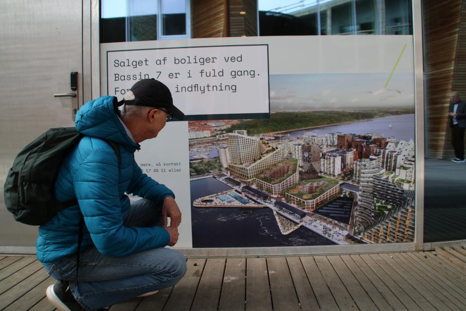 Salget af boliger. Bassin 7. Орхус Доклендс (Aarhus Ø), Дания 29 сентября 2021
