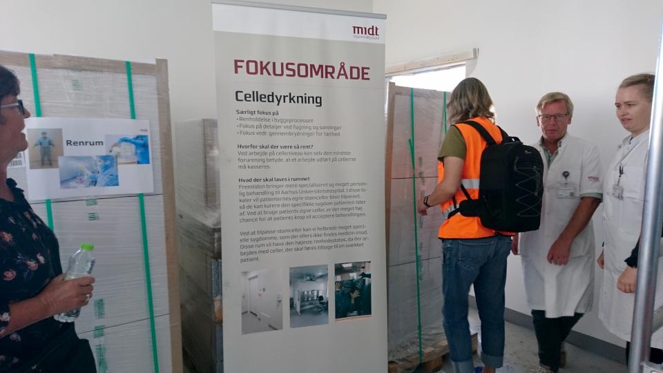 Celledyrkning. Лаборатория. Форум - день открытых дверей (Forum - Åbent Hospital), Университетская больница Орхус, Дания. Фото 5 сент. 2021