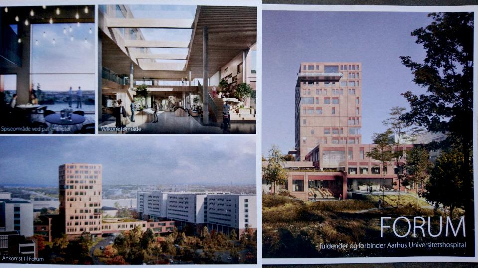 Форум (Forum) Университетская больница Орхус, Дани