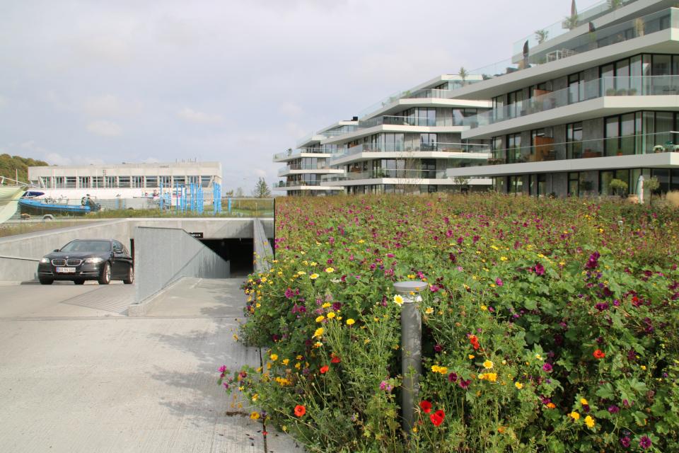 Подземный гараж. Орхус Доклендс 29 сентября 2021 (Aarhus Ø), Дания