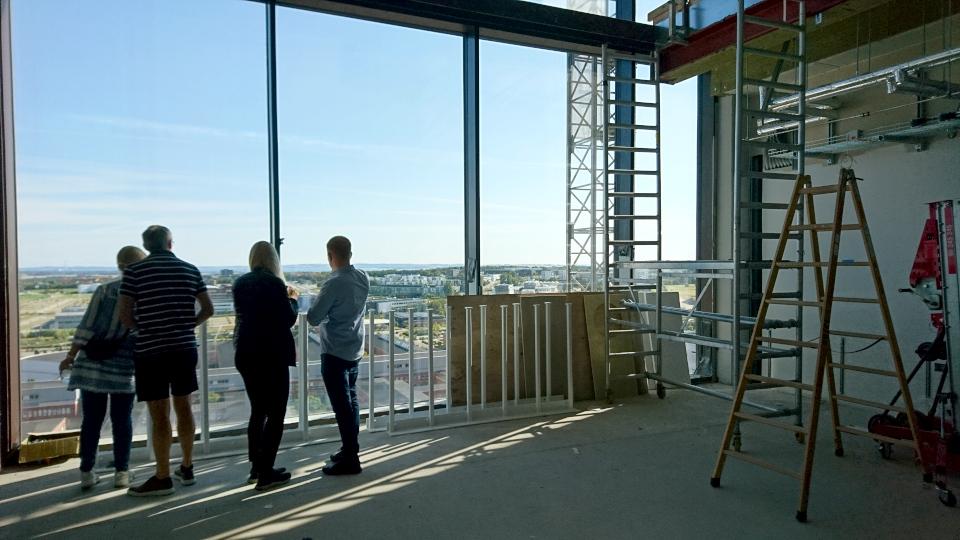 Столовая. Форум - день открытых дверей (Forum - Åbent Hospital), Университетская больница Орхус, Дания. Фото 5 сент. 2021