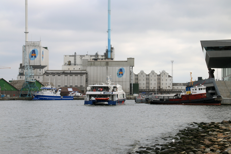 Северный порт Орхус, Дания. Фото 2 сент. 2021