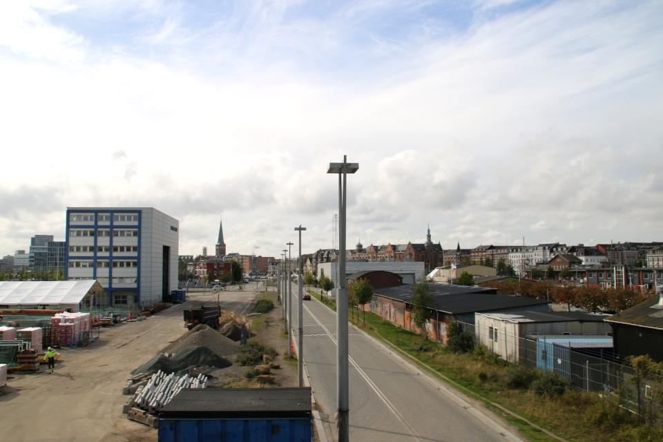 Отопительная станция (Maskinrummet). Орхус Доклендс 29 сентября 2021 (Aarhus Ø), Дания