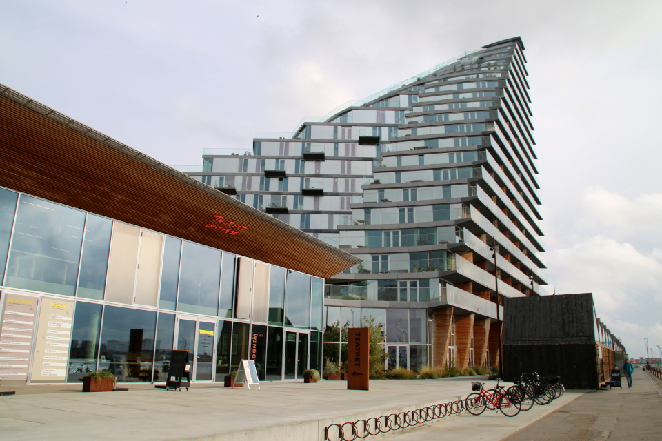AArhus. Bassin 7. Орхус Доклендс (Aarhus Ø), Дания 29 сентября 2021