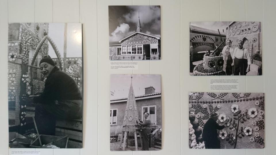 Старые фотографии. Дом с ракушками Тюборён (Sneglehuset, Thyborøn), Дания. Фото 26 сент. 2021