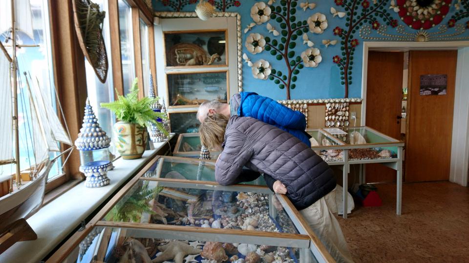 Дом с ракушками Тюборён (Sneglehuset, Thyborøn), Дания. Фото 26 сент. 2021