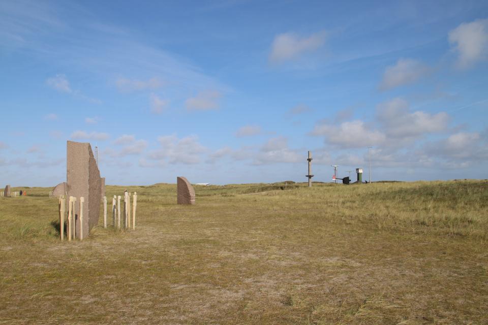 Мемориальный парк Тюборён (Mindeparken Thyborøn), Дания. Фото 25 сент. 2021