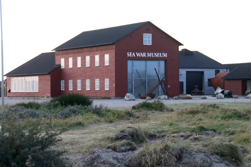 Thyborøn Sea War museum, Тюборён, Дания. Фото 25 сент. 2021