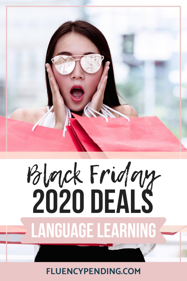 Black Friday 2020 Language Learning Deals