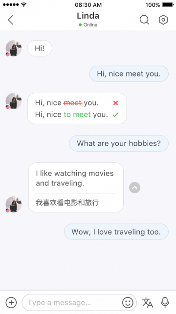 HelloTalk Chat-iOS