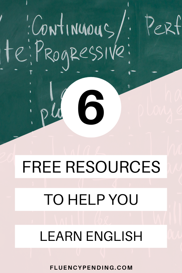 6 Free Resource for English Learners