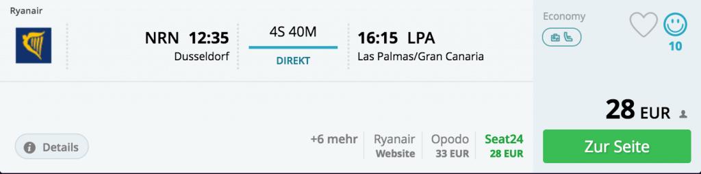 16.04., Weeze - Gran Canaria