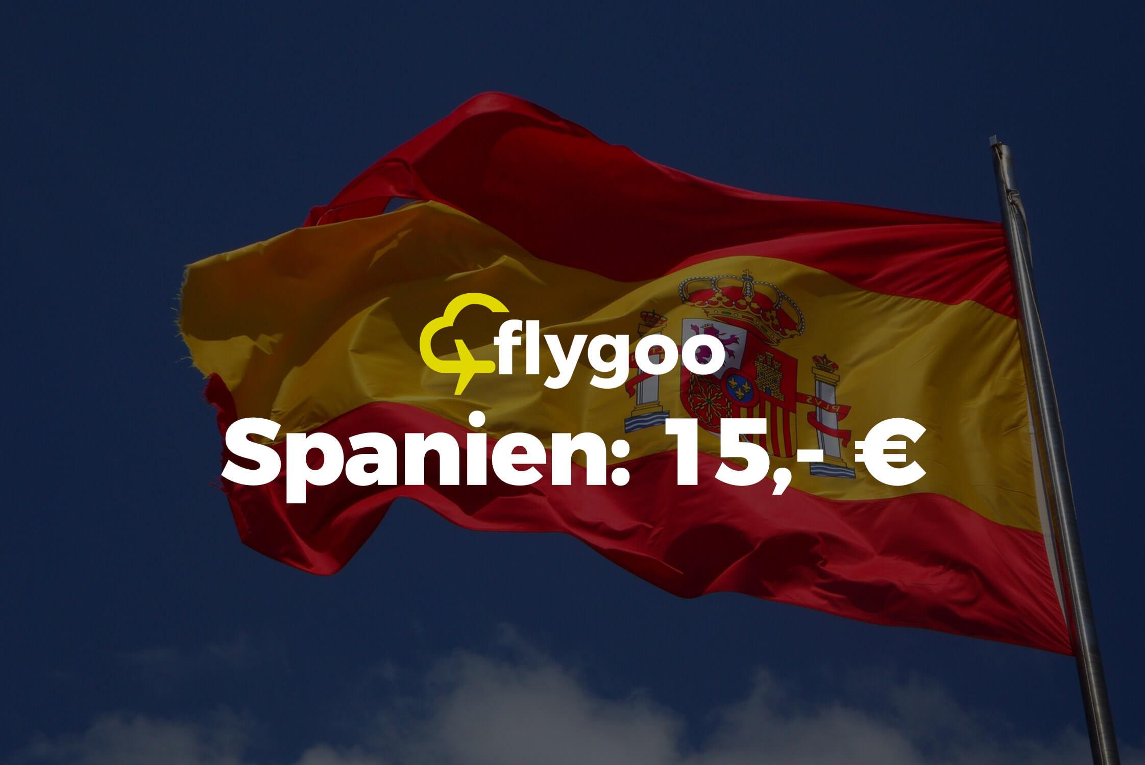 Ab 15 Euro nach Spanien fliegen!