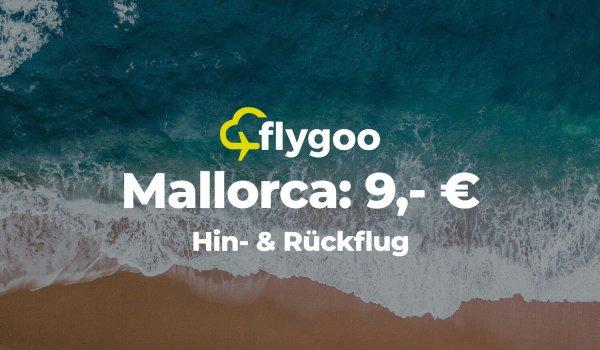 Ab 9 Euro nach Mallorca fliegen