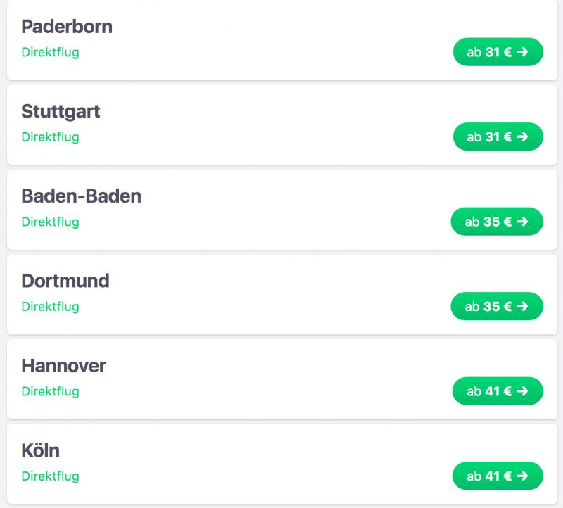 Berlin - Mallorca nur 9 Euro