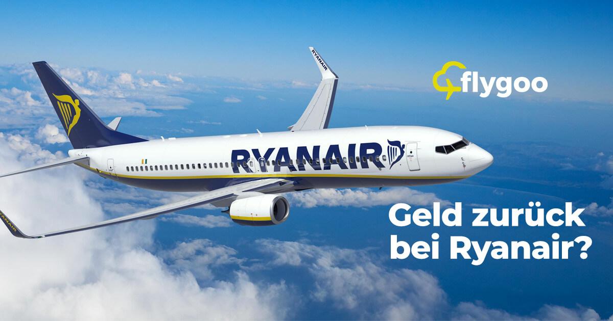 Ryanair Flug stornieren und bis zu 75% Geld zurück erhalten!