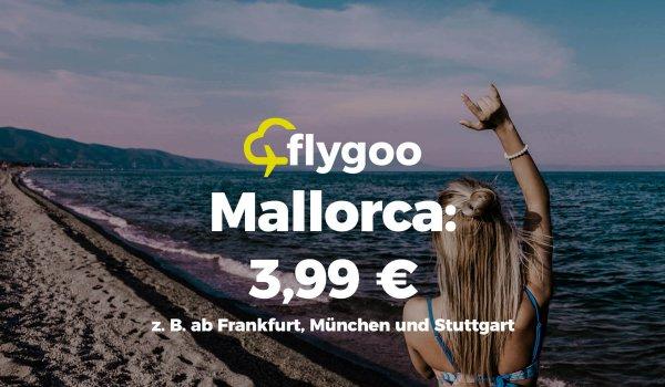 Mallorca ab 3,99 €