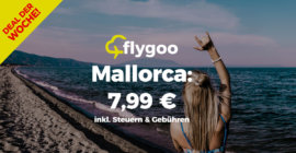 August & September: Mallorca-Flüge für 7,99 €