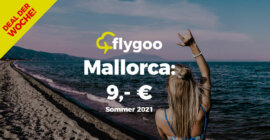 Juni: Mallorca-Flüge für nur 9,- Euro!