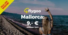 Mallorca-Flüge im Sommer ab 9,- Euro!