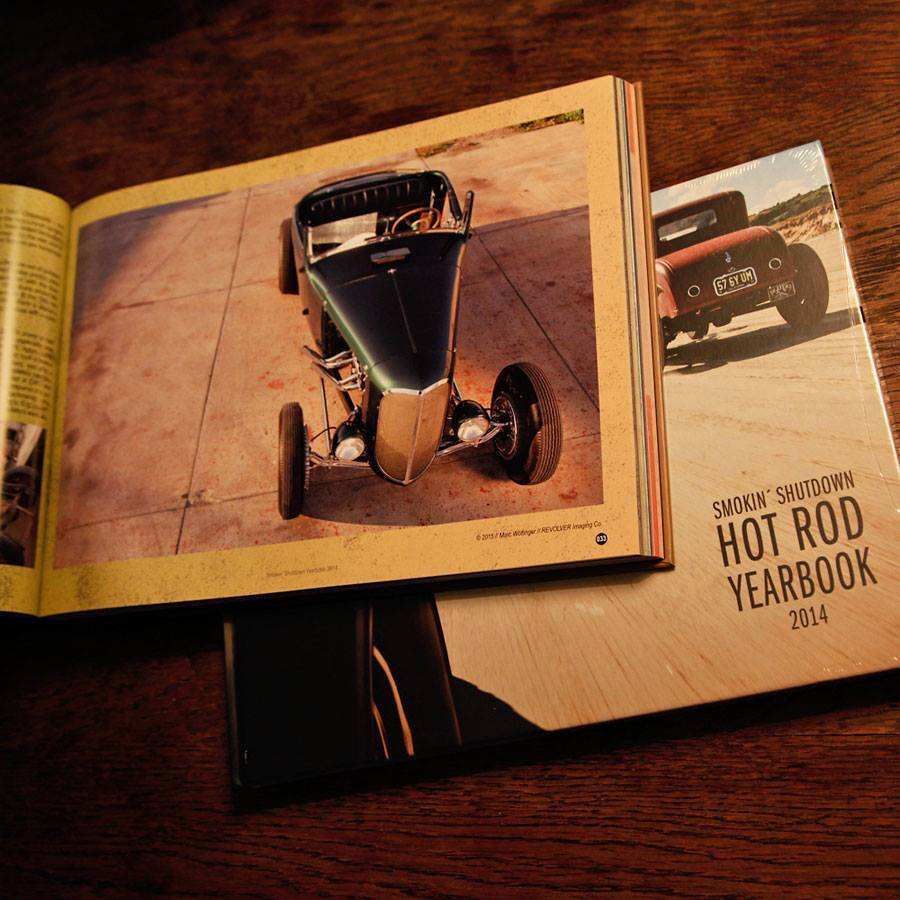 Smokin' Shutdown, Hot Rod Yearbook, Layout, Druckvorstufe, Grafik, Fotos usw usf. by Flying Piston Studios