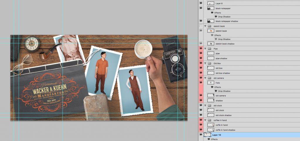 Flyer Design Marlenes Töchter by Flying Piston Studios.com