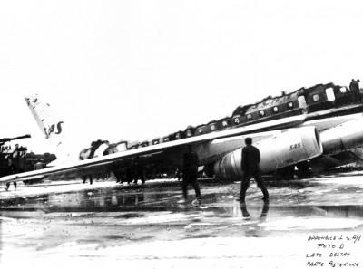 SE-DBE holder udbrændt på landingsbanen
