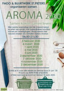 Aroma programma 2020 Brugge