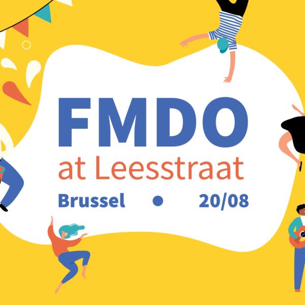 FMDO at Leesstraat   Cultuurnamiddag in Brussel
