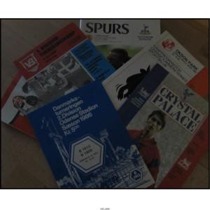 Kampprogrammer – Lykkepakke med 10 blandedekampprogrammer. Danske og engelske