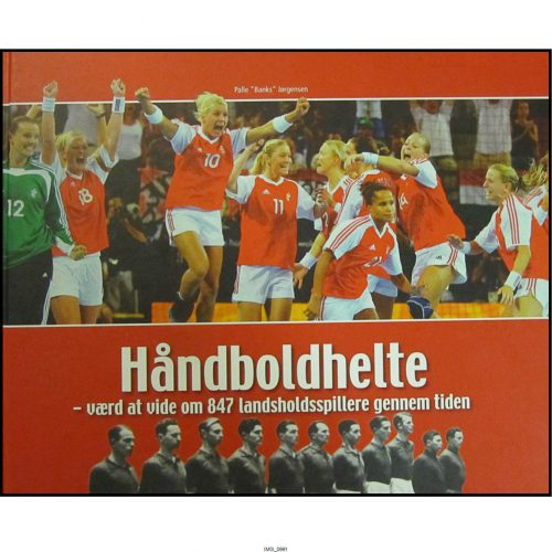 """Håndboldhelte - Flot og omfattende værk af Palle """"Banks"""" Jørgensen"""