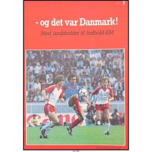 Og det var Danmark – med landsholdet til fodbold-EM
