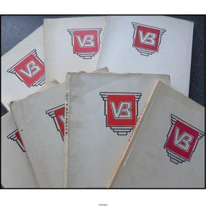 Vejle Boldklub Årsskrift (fra 1954 – 1979)