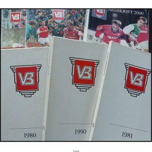 Vejle Boldklub årsskrift  (fra 1980-2016)