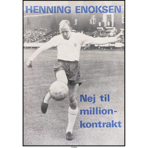 Henning Enoksen - Nej til million-kontrakt