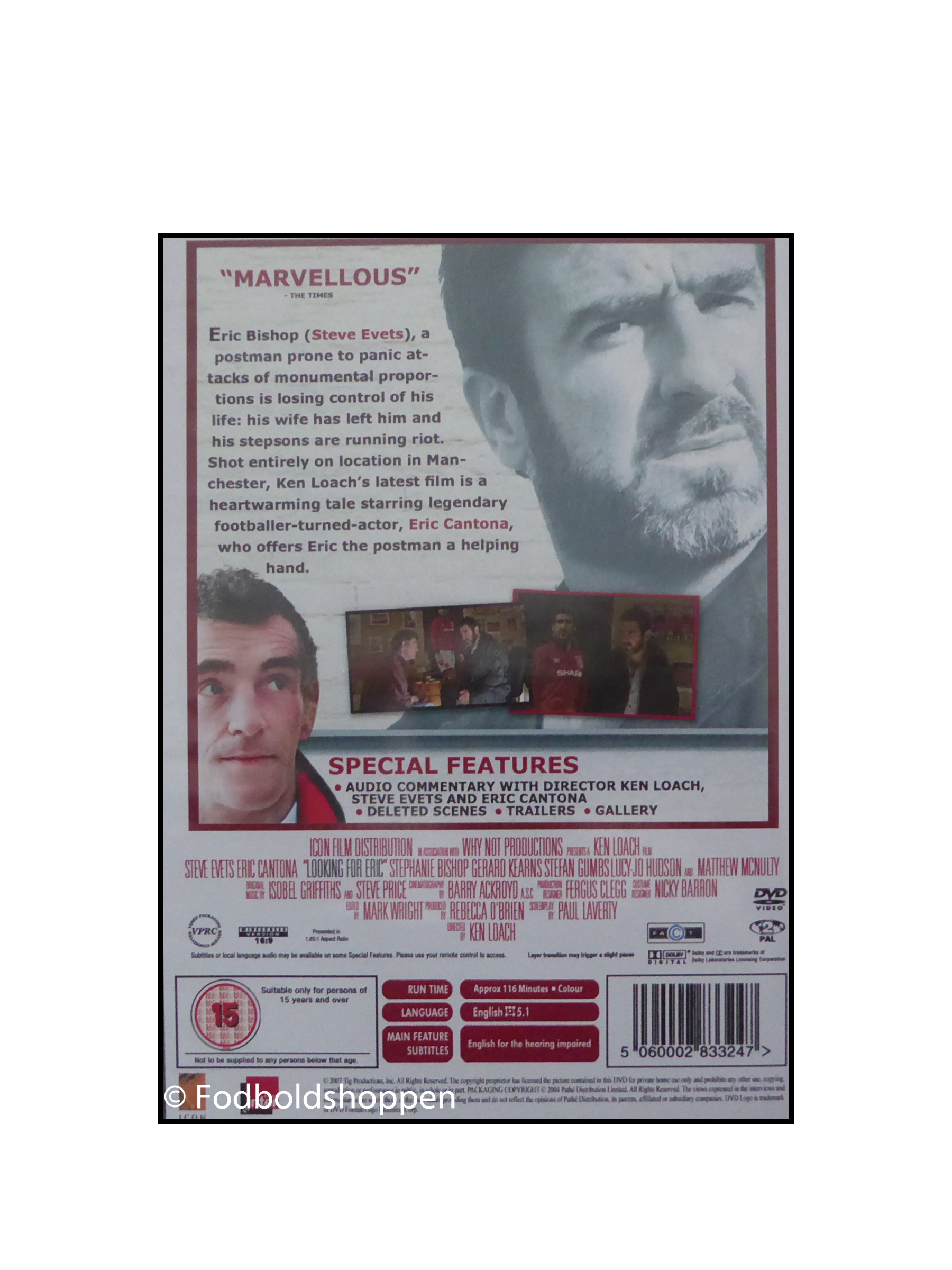 DVD - Looking for Eric