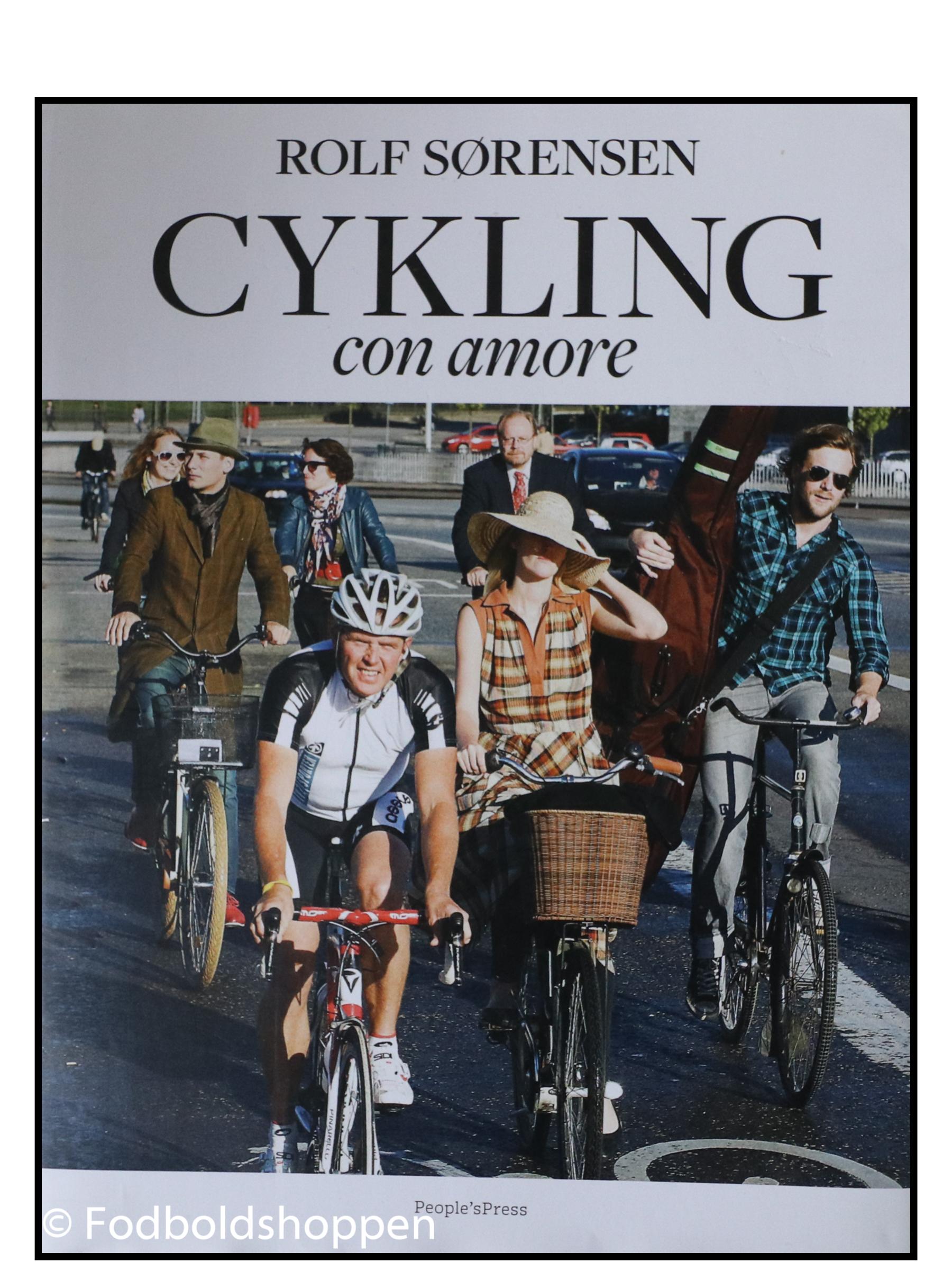 Cykling con amore af Jan Løfberg; Rolf Sørensen