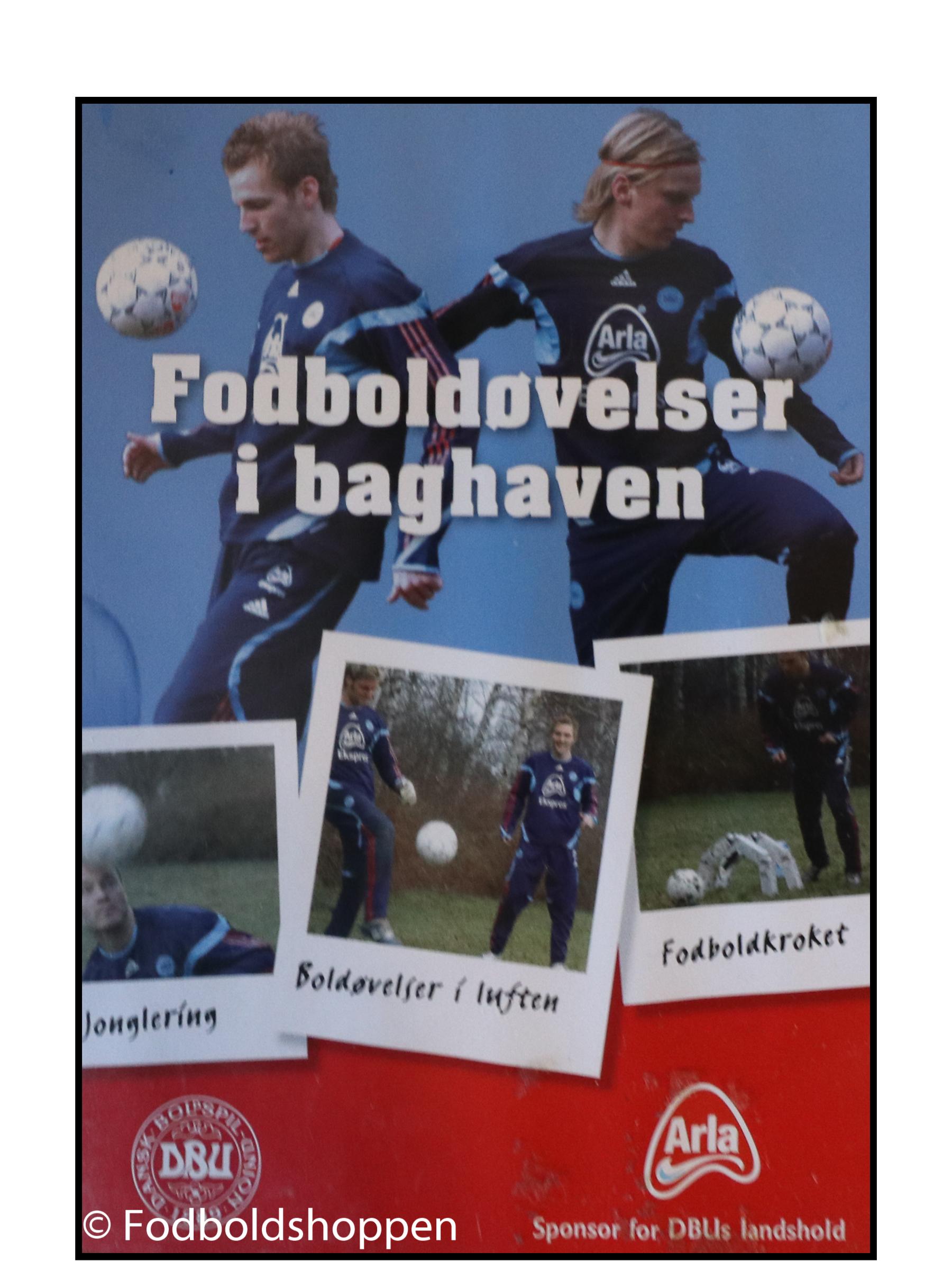 Fodboldøvelser i baghaven DVD