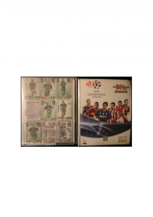 Panini Champions League Samlekort Fodboldalbum 2010/11 + Update