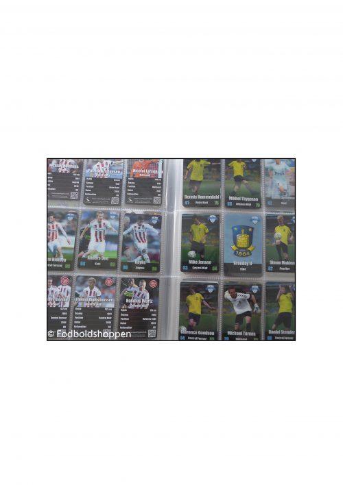 Samlemappe med Superliga Fodboldkort 2012/13 i 3D