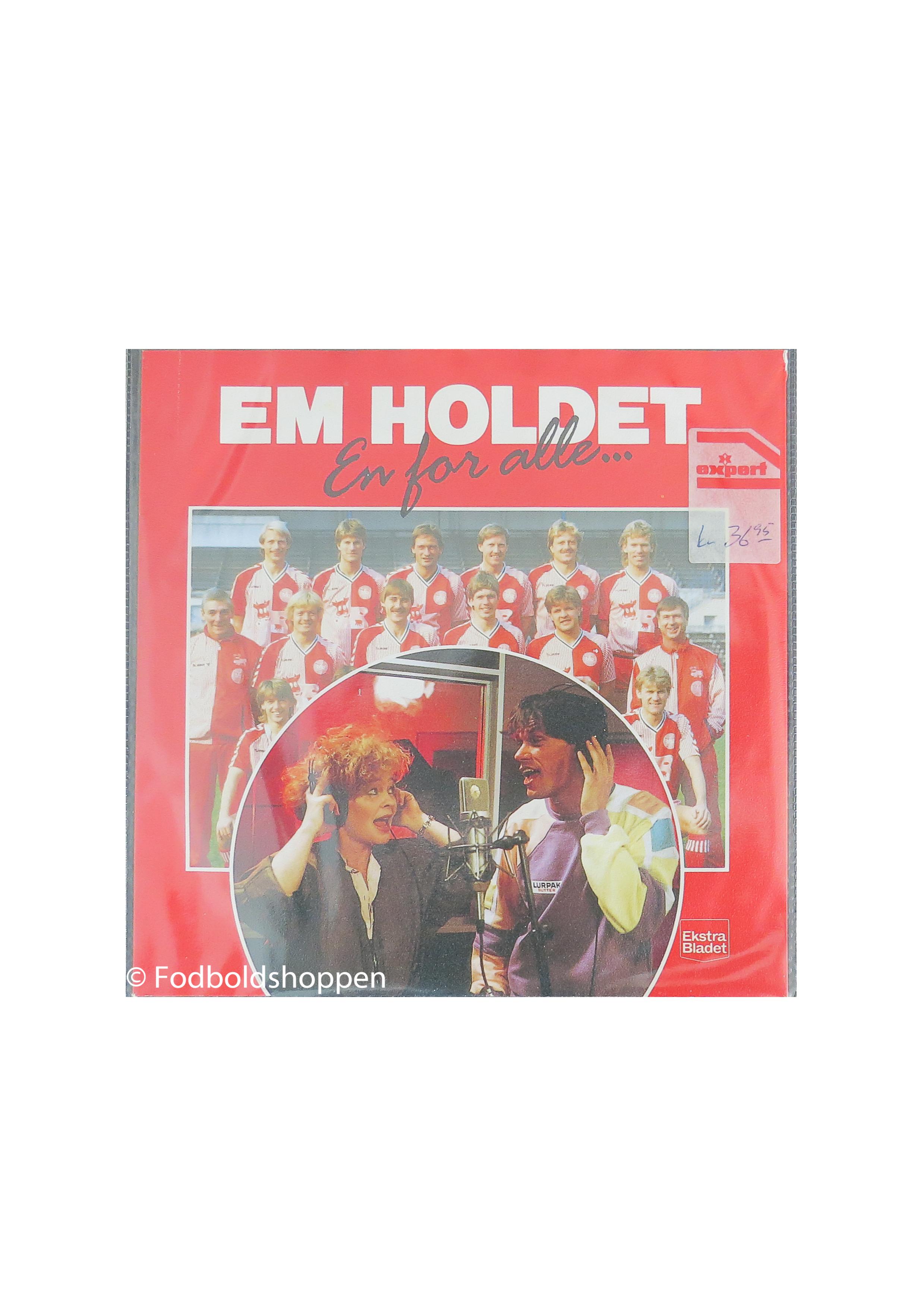 Single plade - EM holdet - En for alle